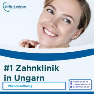 Smile Zentrum Zahnklinik in Ungarn